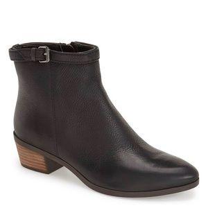 Dr. Scholls Leather Black  Mindy Booties 8.5